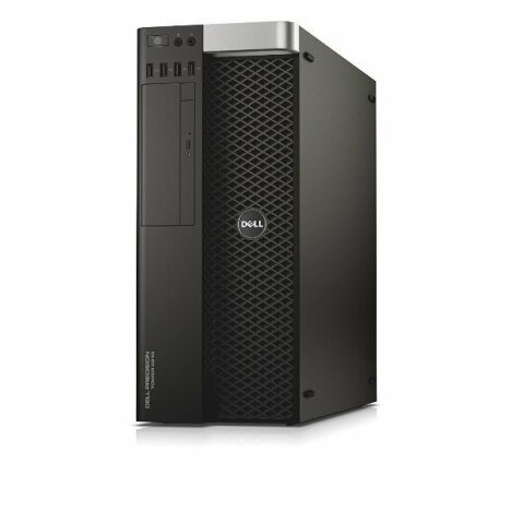 Workstation DELL Precision T5810 Tower, Intel Quad Core Xeon E5-1620 v3 3.5 GHz, 32 GB DDR4 ECC, 256